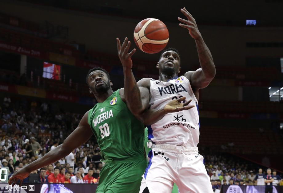[图]迪奥古16+6尼日利亚取首胜 韩国42分三战全败