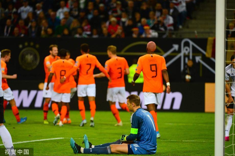 [图]欧预赛-德容处子球克罗斯点射 德国2-4荷兰