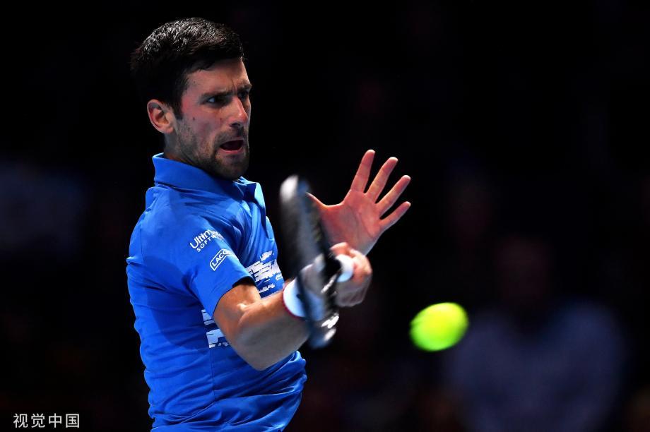 [图]ATP年终-德约状态出色仅丢3局横扫贝雷蒂尼