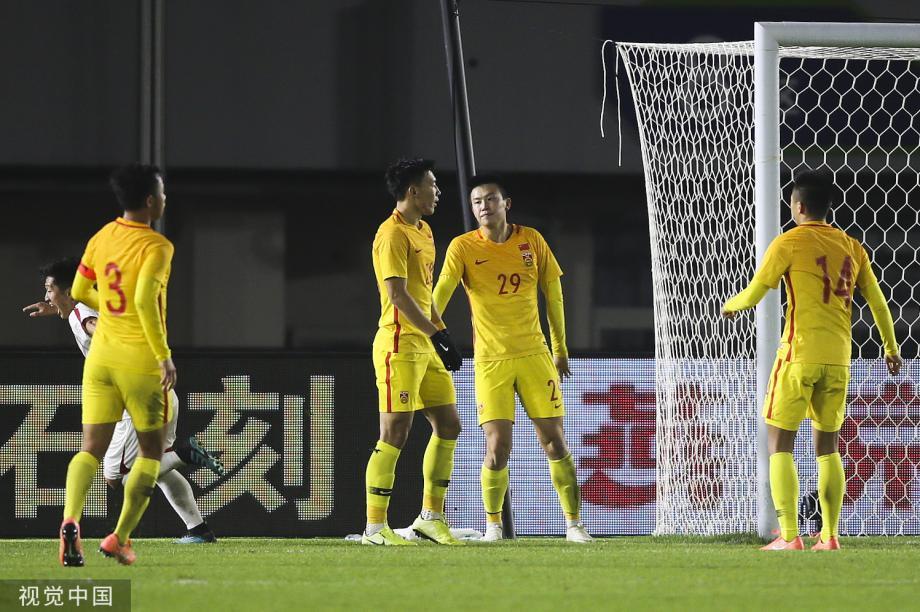 [图]四国赛-进攻失误遭对手反击 国奥0-1不敌朝鲜
