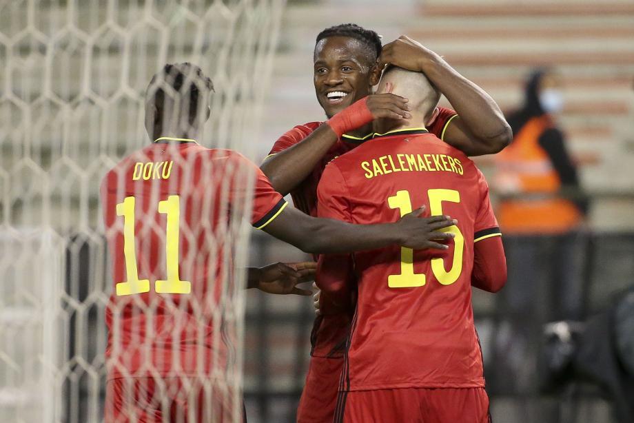 热身赛-巴舒亚伊破门凯西点射 比利时1-1科特迪瓦