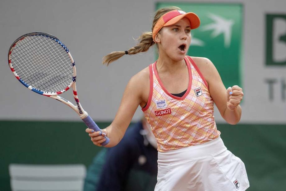肯宁力克科维托娃 首进法网女单决赛和01后争冠