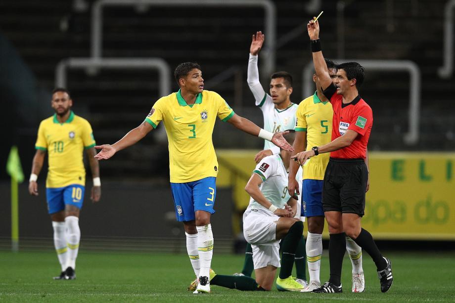 世预赛南美区-内马尔两助攻 巴西大胜玻利维亚