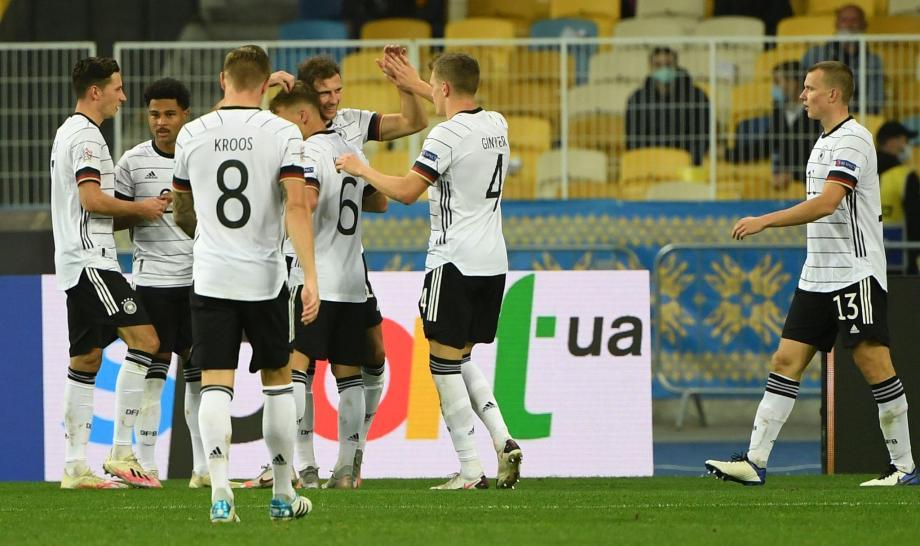 欧国联-格雷茨卡破门聚勒送点 德国2-1乌克兰