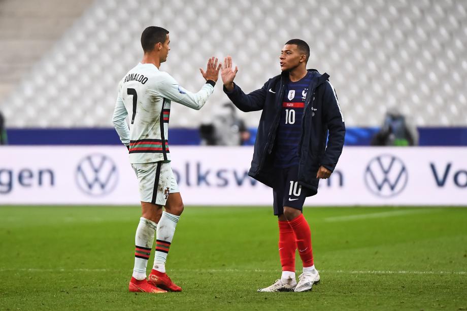 欧国联-C罗姆巴佩哑火佩佩进球被吹 法国0-0葡萄牙