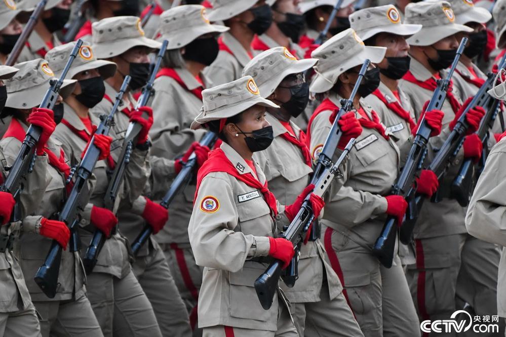 委内瑞拉举行阅兵仪式庆祝独立日插图(2)