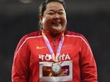 [田径]田径世锦赛 女子链球颁奖仪式