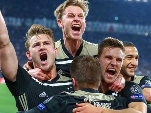 [歐冠]1/4決賽次回合:尤文VS阿賈克斯 完整賽事