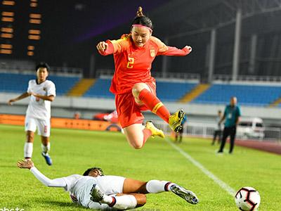 [女足]U19国际女足锦标赛:泰国0-0中国 比赛集锦