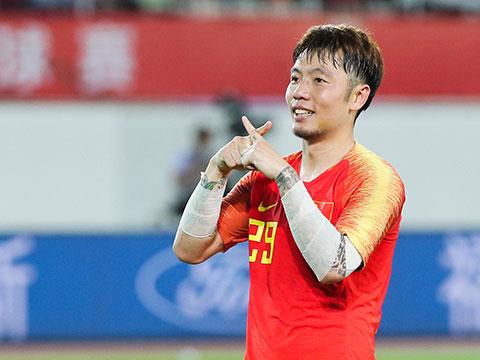 [国足]广州国际足球赛:中国2-0菲律宾 比赛集锦