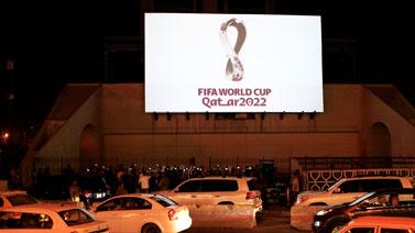 [图]2022卡塔尔世界杯前瞻 官方logo亮相世界各地