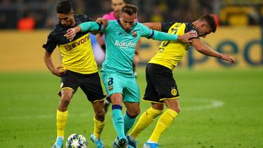 [欧冠]F组第1轮:多特蒙德VS巴塞罗那 完整赛事