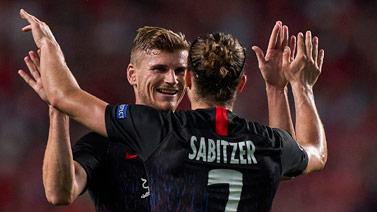 [欧冠]维尔纳两球 莱比锡客场2-1击败本菲卡
