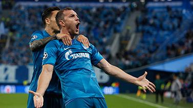 [圖]歐冠-阿茲蒙連場破門 澤尼特3-1力克本菲卡