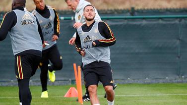 [图]2020欧洲杯预选赛前瞻 比利时训练备战