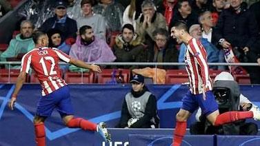 [欧冠]D组:马德里竞技1-0勒沃库森 比赛集锦