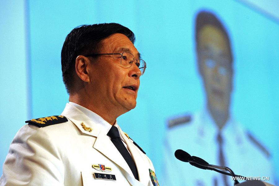 Un amiral chinois réitère la position de la Chine