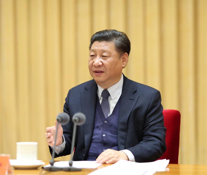 1月15日至16日,中央政法工作会议在北京召开。中共中央总书记、国家主席、中央军委主席习近平出席会议并发表重要讲话。 (图片来源:新华社)