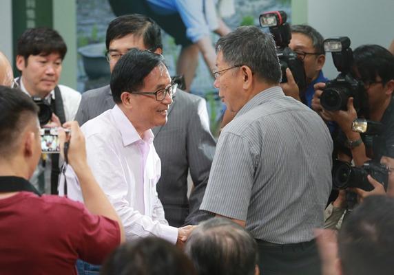 前台湾地区领导人陈水扁(图片来源:台湾《联合报》)