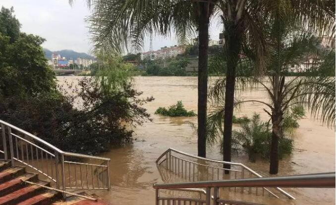 江滨公园已被封锁