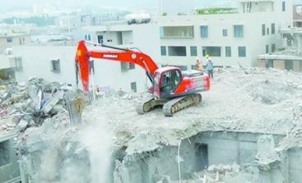 涉案房子被依法拆除