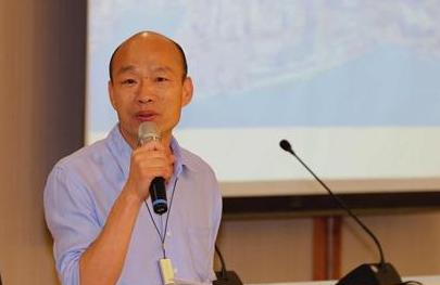 高雄市市长韩国瑜。中新社记者 刘舒凌 摄