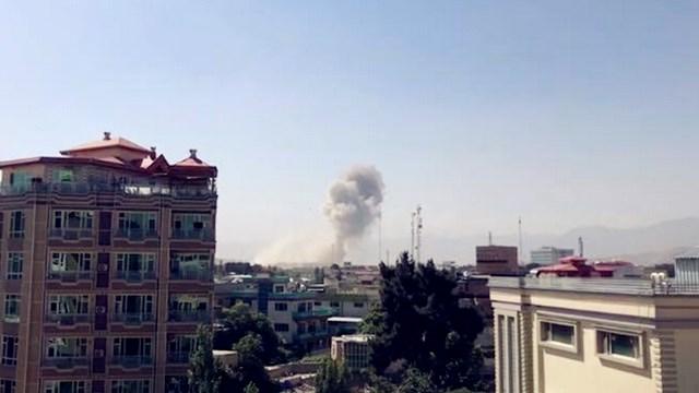 阿富汗首都喀布爾第16警區發生爆炸 目前還沒有人員傷亡