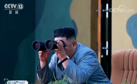正恩指导新型战术制导武