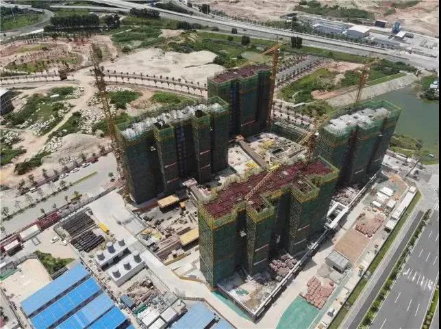 截至7月底,项目正在进行主体结构工程施工