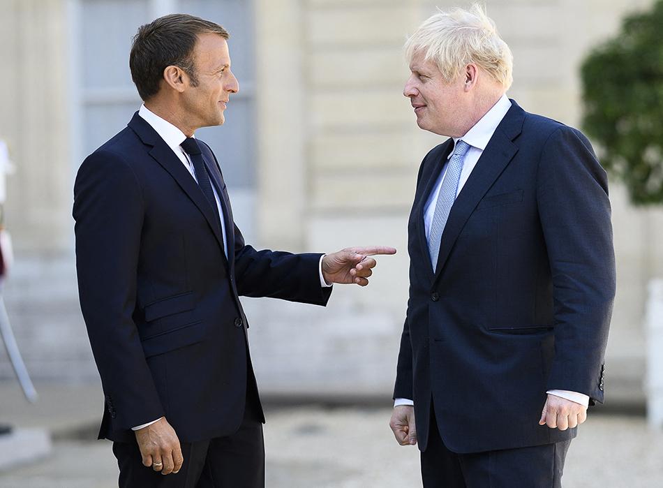 马克龙:没时间商讨英国新脱欧协议 避免