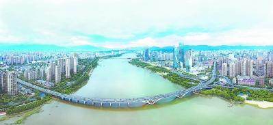 福州三江口海峡文化艺术中心。 林熙 摄