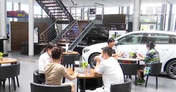 中国汽车产销量结束21个月连续下滑趋势