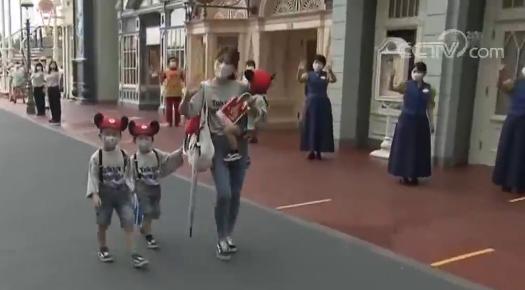 日本迪士尼乐园7月1日恢复营业 入园采取预约制