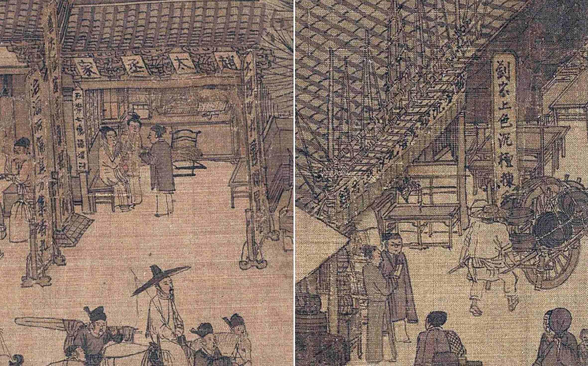 《清明上河图》中的赵太丞家和刘家香药铺