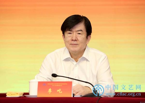 中国文联党组书记、副主席李屹出席开幕式并讲话。中国文艺网 胡艳琳 摄