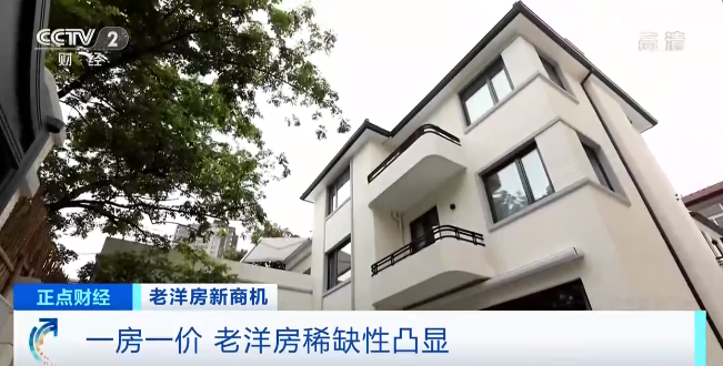 老洋房稀缺性凸显,部分月租金高达几十万元