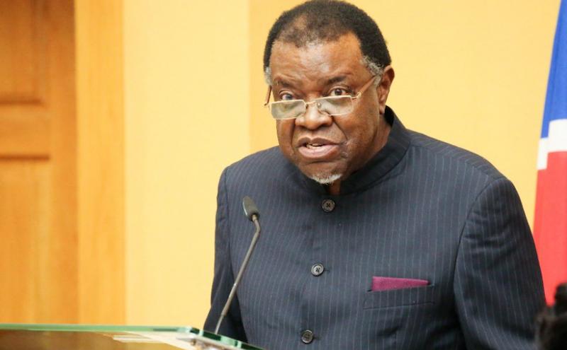 纳米比亚总统根哥布新冠病毒检测结果呈阳性插图