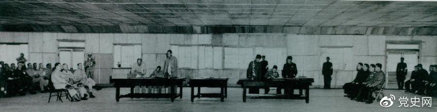 1953年7月27日,朝鲜停战协定在板门店正式签字