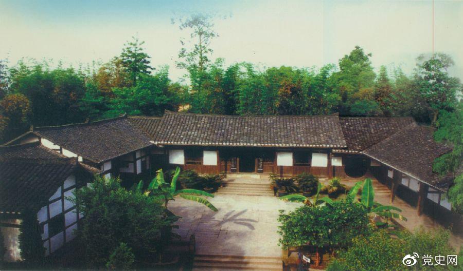 1904年8月22日,邓小平出生在四川省广安县协兴乡(今广安市协兴镇)牌坊村。图为邓小平故居。
